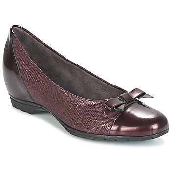 Cipők Női Balerina cipők / babák Pitillos 3614 Bordó
