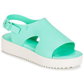 Cipők Női Szandálok / Saruk Melissa HOTNESS Zöld / Fehér