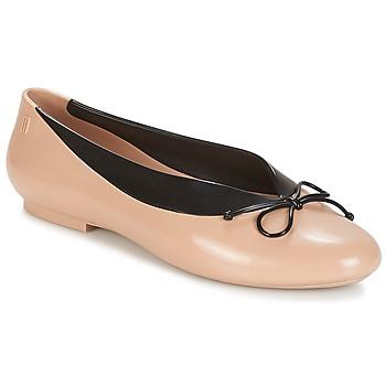 Cipők Női Balerina cipők / babák Melissa JUST DANCE Bézs
