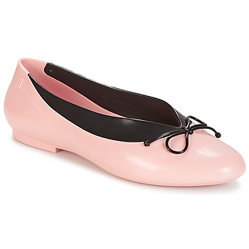 Cipők Női Balerina cipők / babák Melissa JUST DANCE Rózsaszín / Fekete