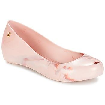 Cipők Női Balerina cipők / babák Melissa ULTRAGIRL XII Rózsaszín