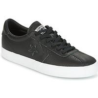 Cipők Női Rövid szárú edzőcipők Converse BREAKPOINT FOUNDATIONAL LEATHER OX  BLACK BLACK WHITE Fekete 06016058c6