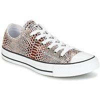 Cipők Női Rövid szárú edzőcipők Converse CHUCK TAYLOR ALL STAR FASHION SNAKE OX BROWN/BLACK/WHITE Fekete  / Fehér