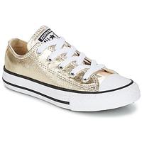 Cipők Lány Rövid szárú edzőcipők Converse CHUCK TAYLOR ALL STAR Arany / Fehér / Fekete