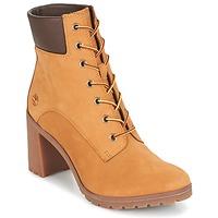Cipők Női Bokacsizmák Timberland ALLINGTON 6IN LACE UP Barna