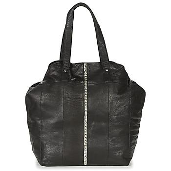 Táskák Női Bevásárló szatyrok / Bevásárló táskák Pieces JULES Fekete