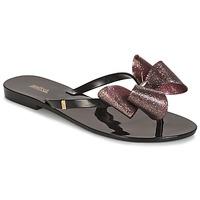 Cipők Női Félcipők Melissa HARMONIC TARTAN AD Fekete