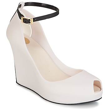 Cipők Női Szandálok / Saruk Melissa PATCHULI IX AD Bézs / Fekete