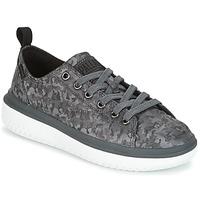 Cipők Női Rövid szárú edzőcipők Palladium CRUSHION LACE CAMO Fekete  / Szürke