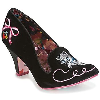 Cipők Női Félcipők Irregular Choice FUZZY PEG Fekete