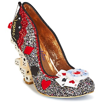 Cipők Női Félcipők Irregular Choice LAS VEGAS Ezüst / Fekete