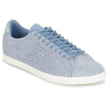 Cipők Női Rövid szárú edzőcipők Le Coq Sportif CHARLINE NUBUCK Kék