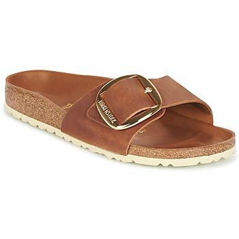 Cipők Női Papucsok Birkenstock MADRID BIG BUCKLE Barna