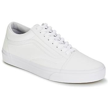 Cipők Rövid szárú edzőcipők Vans OLD SKOOL Fehér