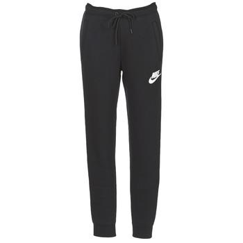 Ruhák Női Futónadrágok / Melegítők Nike RALLY PANT Fekete  / Fehér