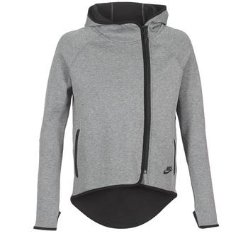 Ruhák Női Pulóverek Nike TECH FLEECE CAPE FZ Szürke