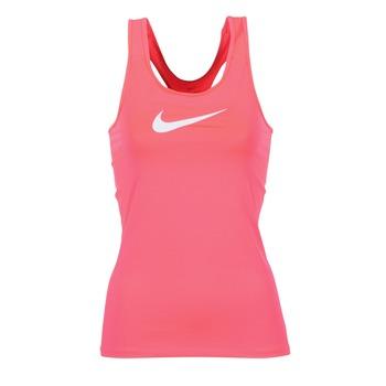 Ruhák Női Trikók / Ujjatlan pólók Nike NIKE PRO COOL TANK Rózsaszín / Fehér