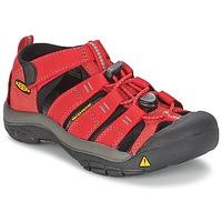 Shoes Gyerek Sportszandálok Keen KIDS NEWPORT H2 Piros / Szürke