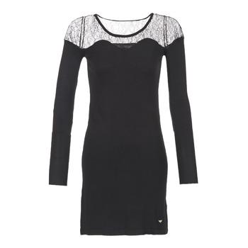 Ruhák Női Rövid ruhák Les Petites Bombes DARTO Fekete