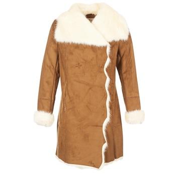 Ruhák Női Kabátok Derhy RADEAU Teve