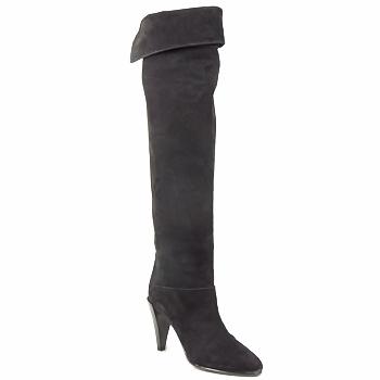 Cipők Női Combcsizmák Veronique Branquinho LIBERIUS Fekete