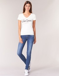 Ruhák Női Skinny farmerek Pepe jeans SOHO Z63 / Kék / Átlagos