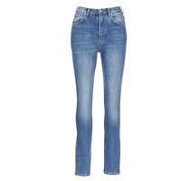 Ruhák Női Slim farmerek Pepe jeans GLADIS Ga7 / Kék / Tiszta