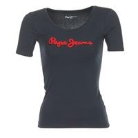 Ruhák Női Rövid ujjú pólók Pepe jeans MARIA Fekete