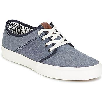Cipők Férfi Rövid szárú edzőcipők Jack & Jones TURBO Kék