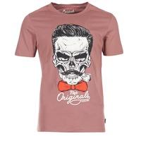 Ruhák Férfi Rövid ujjú pólók Jack & Jones CRIPTIC ORIGINALS Rózsaszín