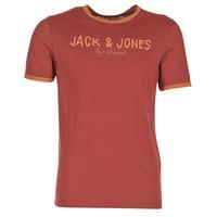 material Férfi Rövid ujjú pólók Jack & Jones RETRO ORIGINALS Piros
