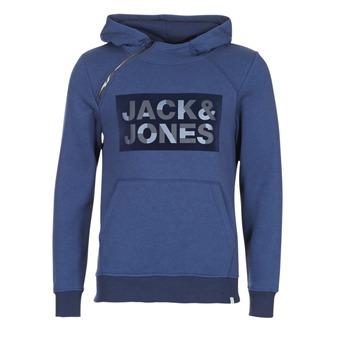 Ruhák Férfi Pulóverek Jack & Jones KALVO CORE Kék