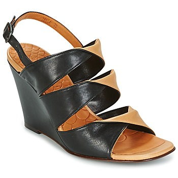 Cipők Női Szandálok / Saruk Chie Mihara CRUSH Fekete