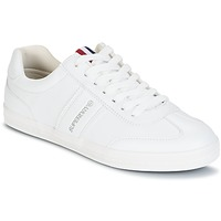 Cipők Női Rövid szárú edzőcipők Superdry COURT CLASSIC SLEEK TRAINER Fehér