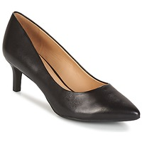 Cipők Női Félcipők Geox D ELINA C - CAPRA NAPPATA Fekete