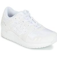 Cipők Gyerek Futócipők Asics GEL-LYTE III PS Fehér / Bézs
