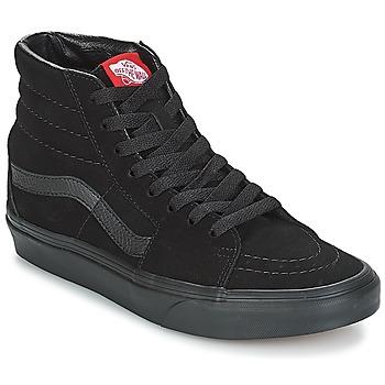 Cipők Magas szárú edzőcipők Vans SK8-Hi Fekete