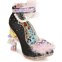 Cipők Női Félcipők Irregular Choice ALL ABOUT MOI Fekete