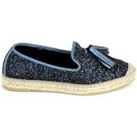 Cipők Női Gyékény talpú cipők La Maison De L'espadrille 772 Bleu Kék