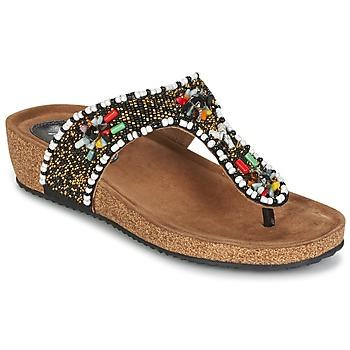 Shoes Női Szandálok / Saruk Metamorf'Ose ZABUSTE Fekete  / Sokszínű