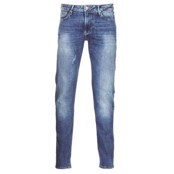 material Férfi Slim farmerek Armani jeans LORETTE Kék