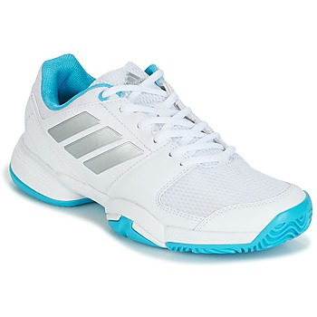 Shoes Futócipők adidas Performance Barricade Club xJ Fehér / Kék