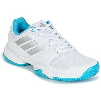 Cipők Futócipők adidas Performance Barricade Club xJ Fehér / Kék