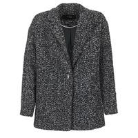 Ruhák Női Kabátok Vero Moda SALT Fekete