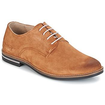 Cipők Férfi Oxford cipők Kickers ELDAN Teve