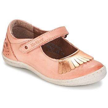 Cipők Lány Balerina cipők / babák Kickers CALYPSO Korall