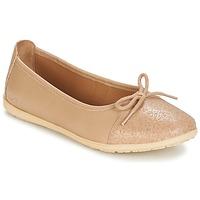 Cipők Lány Balerina cipők / babák Kickers EDANA Bézs