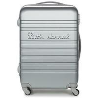 Táskák Keményfedeles bőröndök Little Marcel BLOC Ezüst