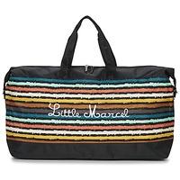 Táskák Női Utazó táskák Little Marcel NAVIGA Fekete  / Sokszínű