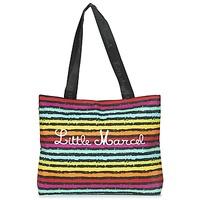 Táskák Női Bevásárló szatyrok / Bevásárló táskák Little Marcel MIRAGE Fekete  / Sokszínű